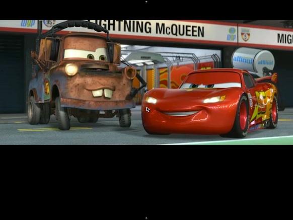 Movie in fullscreen