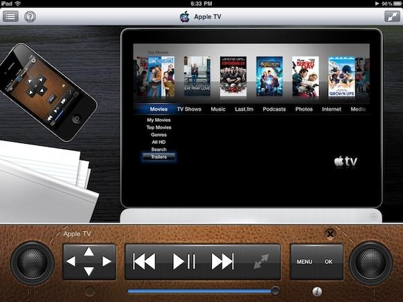 AppleTV Controls
