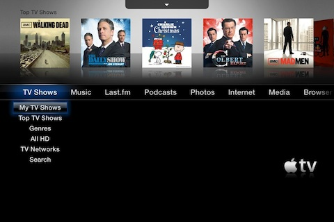 Remote HD controlling AppleTV