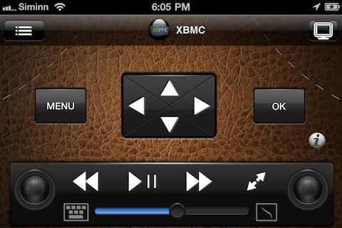 Remote HD controlling XBMC