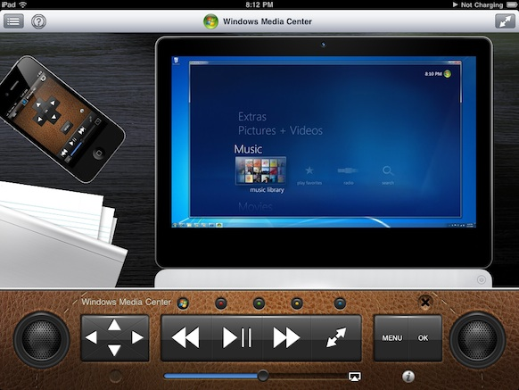 Multimedia Panel with AirPlay support