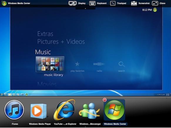 Fullscreen controls