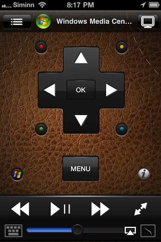 Remote HD controlling iTunes